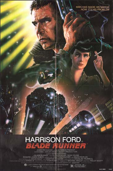 Blade Runner US One Sheet movie poster