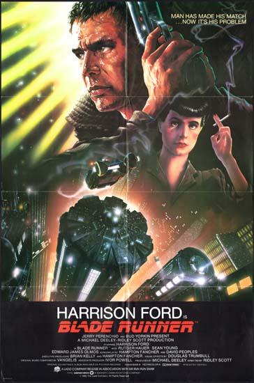 Blade Runner US One Sheet international movie poster
