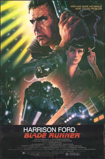 Blade Runner US One Sheet movie poster