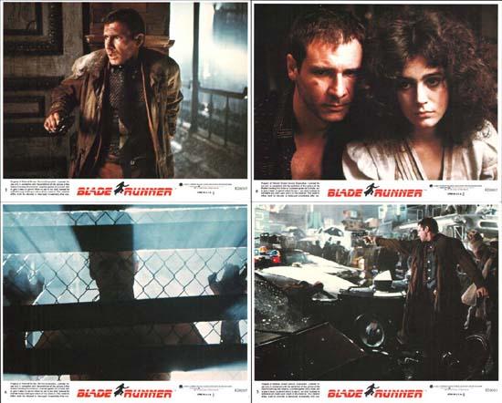 Blade Runner US Mini Lobby Card Set of 8