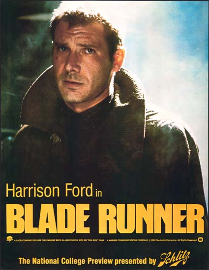 Blade Runner US preview movie poster