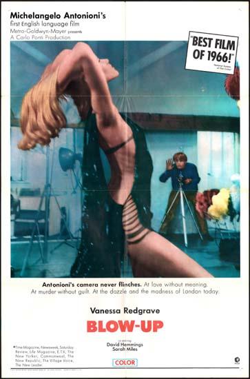 blowup original film poster movie poster studio 1297. Black Bedroom Furniture Sets. Home Design Ideas