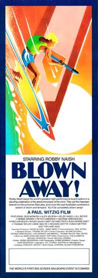 Blown Away! Australian Daybill movie poster