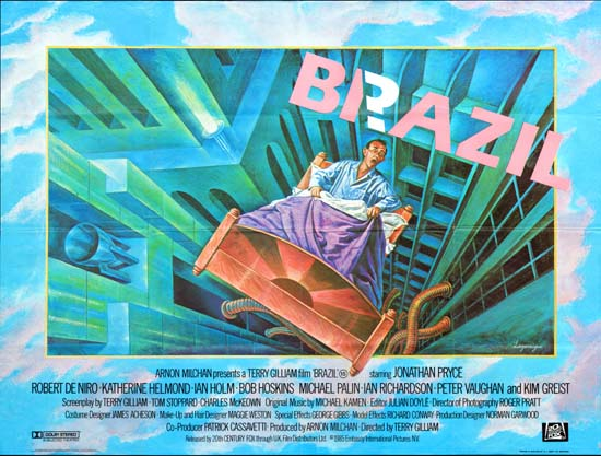 Brazil UK Quad movie poster