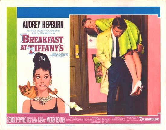 Breakfast at Tiffanys US Lobby Card number 1