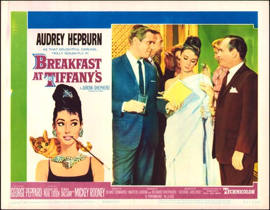 Breakfast at Tiffanys US Lobby Card number 5