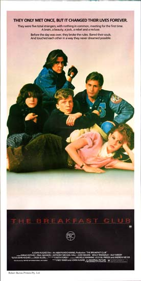 Breakfast Club, The Australian Daybill movie poster
