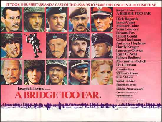 Bridge Too Far, A UK Quad movie poster