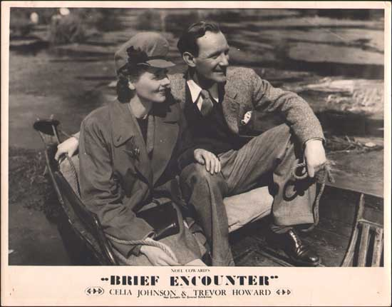 Brief Encounter Australian Lobby Card