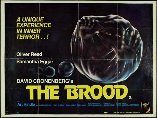 Brood, The UK Quad movie poster