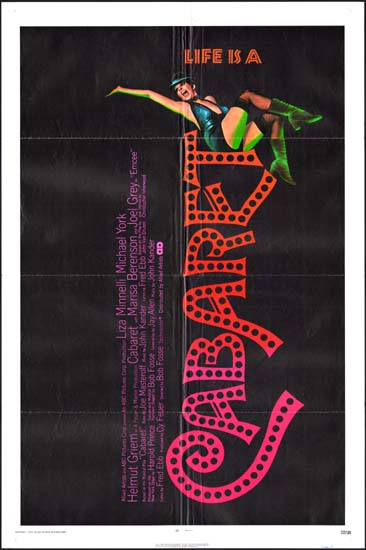 Cabaret US One Sheet movie poster