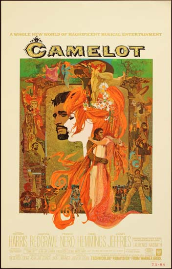 Camelot US Window Card movie poster