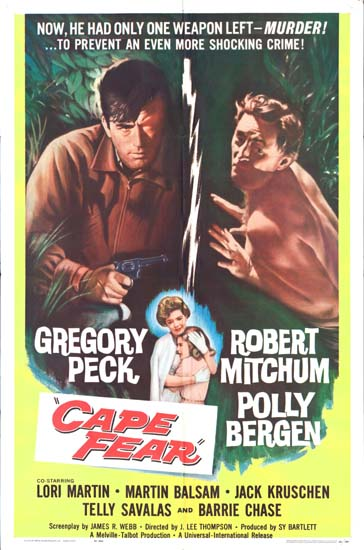 Cape Fear US One Sheet movie poster