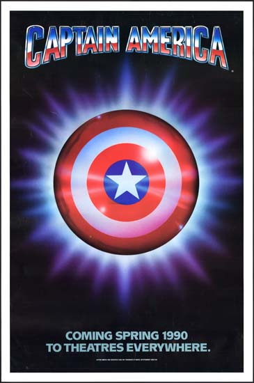 Captain America US One Sheet teaser movie poster
