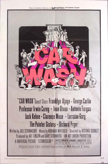 Car Wash US One Sheet movie poster