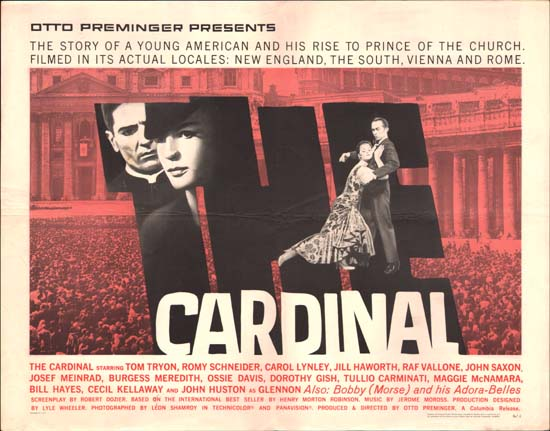 Cardinal, The US Half Sheet movie poster