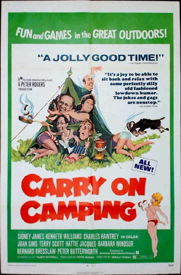 Carry On Camping US One Sheet movie poster