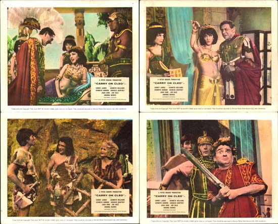 Carry On Cleo UK FOH set of 8