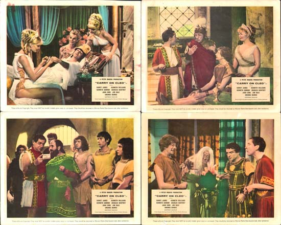 Image 2 of Carry On Cleo UK FOH set of 8