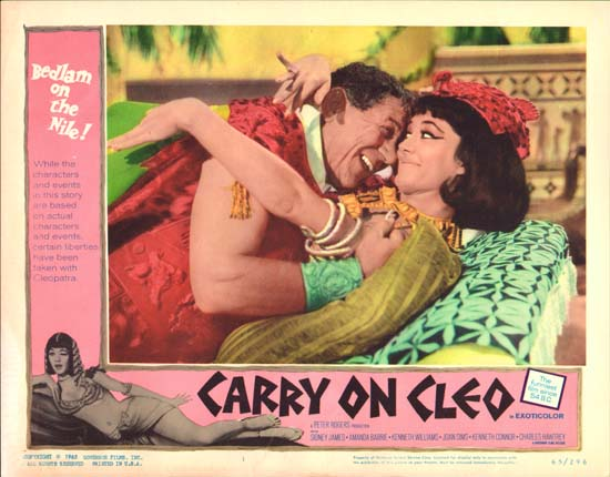 Carry On Cleo US Lobby Card number 1