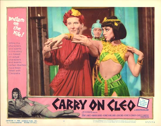 Carry On Cleo US Lobby Card number 4