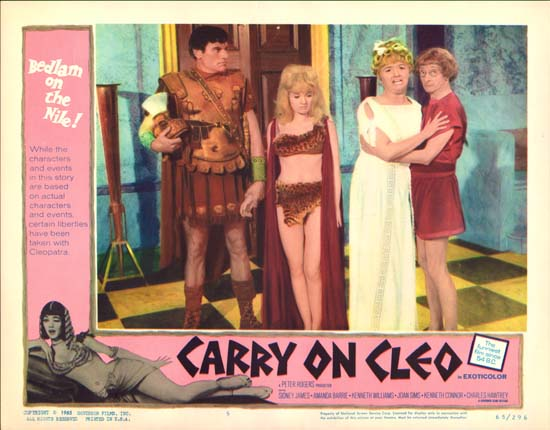 Carry On Cleo US Lobby Card number 5