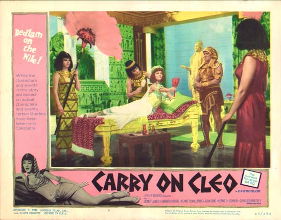 Carry On Cleo US Lobby Card number 6