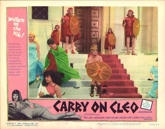 Carry On Cleo US Lobby Card number 8