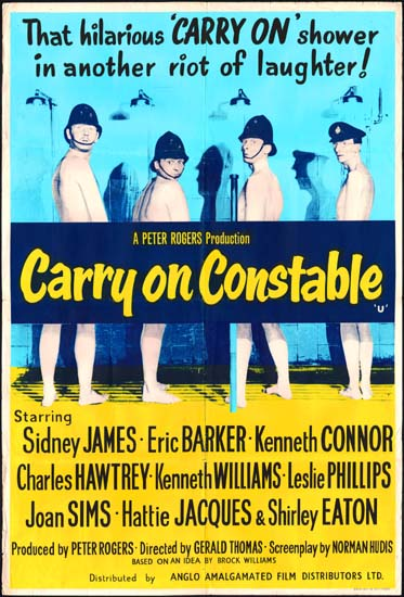 Carry On Constable UK One Sheet movie poster