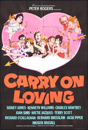 Carry On Loving UK One Sheet movie poster
