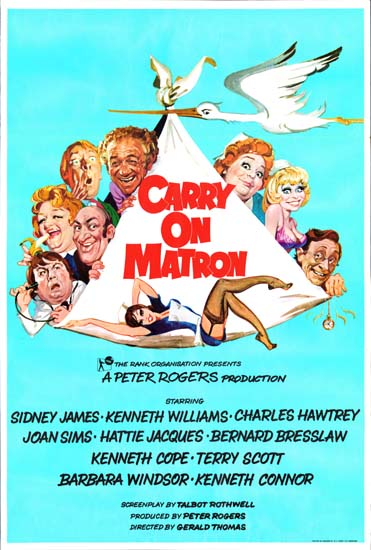 Carry On Matron UK One Sheet movie poster