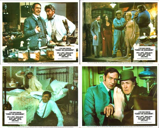 Image 2 of Carry On Screaming UK FOH set of 8