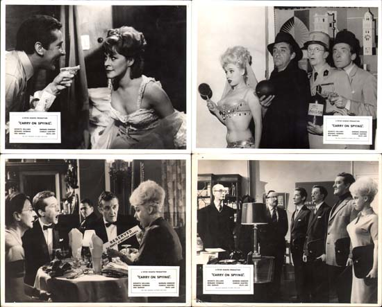 Carry On Spying UK FOH set of 8