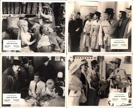 Image 2 of Carry On Spying UK FOH set of 8