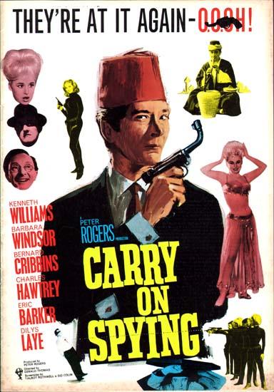 Carry On Spying UK Pressbook international