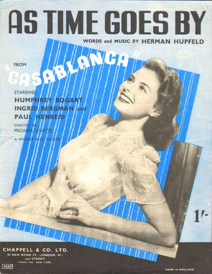 Casablanca UK Sheet Music