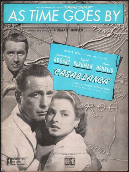 Casablanca US Sheet Music