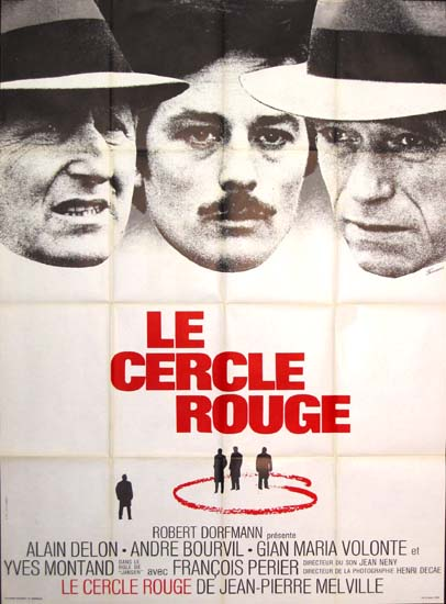 Cercle Rouge, Le [ The Red Circle ] French Grande movie poster