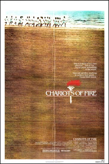 Chariots of Fire US One Sheet movie poster