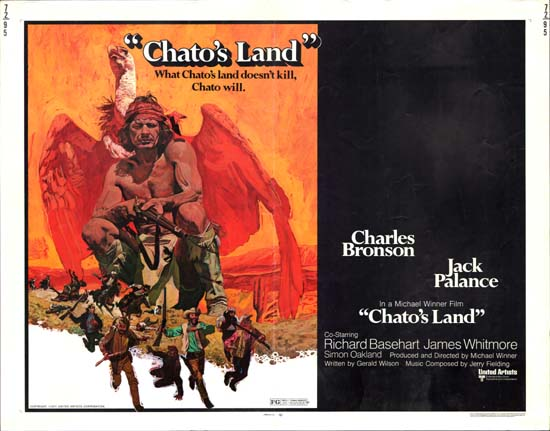 Chatos Land US Half Sheet movie poster