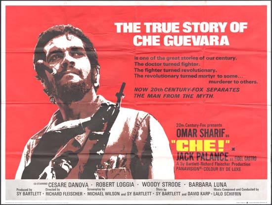 Che UK Quad movie poster
