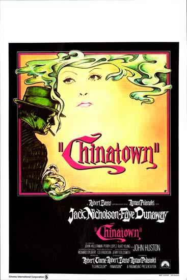 Chinatown Belgian movie poster