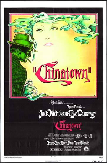 Chinatown US One Sheet movie poster