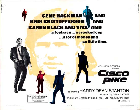 Cisco Pike US Half Sheet movie poster