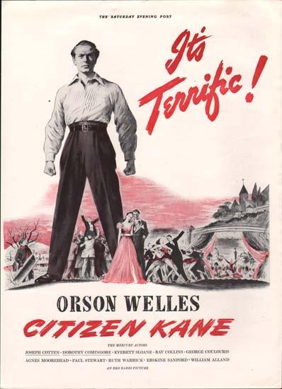 Citizen Kane US Print Ad
