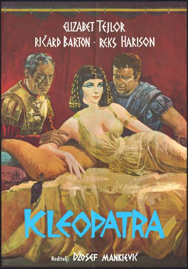 Cleopatra Yugoslavian movie poster