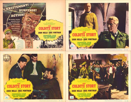 Colditz Story, The US Lobby Card Set of 8
