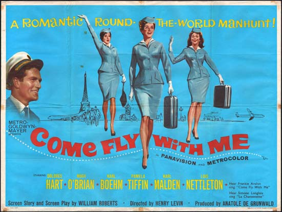Come Fly With Me UK Quad movie poster