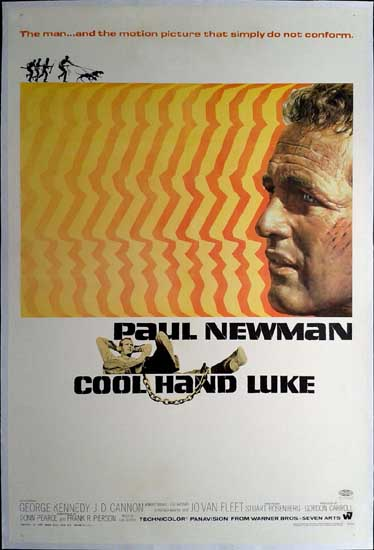 Cool Hand Luke US One Sheet movie poster