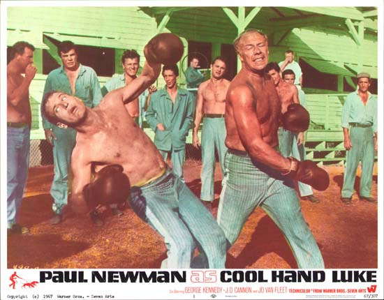 Cool Hand Luke US Lobby Card number 1